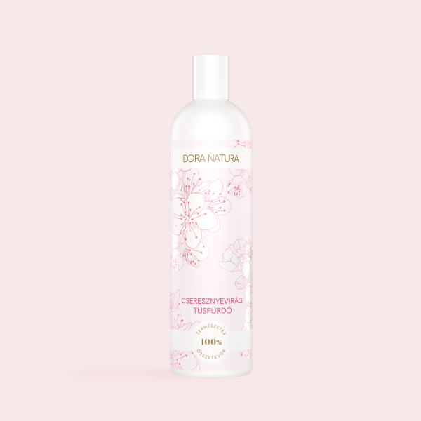 Cseresznyevirág illatú tusfürdő
